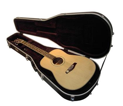 8bce48cb01 TGI Hard Case - ABS Acoustic Dreadnought Guitar TGI1302 - Guitar Mania