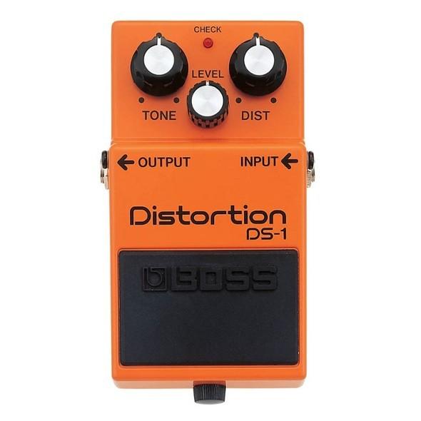 Boss DS-1 distortion pedal, guitar effects