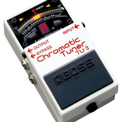 Boss TU-3 Chromatic Pedal Tuner for guitar, bass