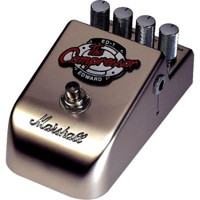 Marshall ED-1 compressor guitar effects pedal
