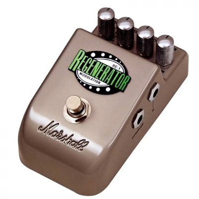Marshall RG-1 Regenerator chorus / flanger guitar effects pedal