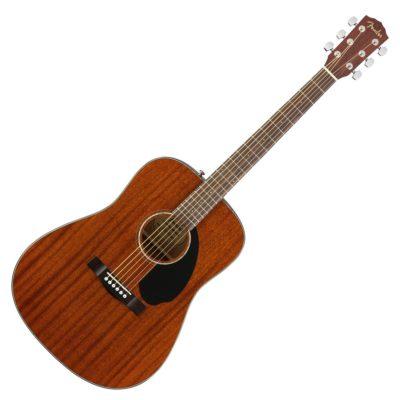 fender cd60s mahogany guitar