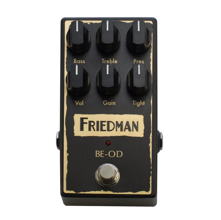 Friedman Brown Eye Overdrive at Guitar Mania