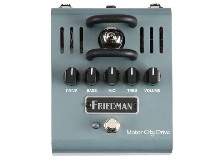 friedman motor city drive at guitar mania