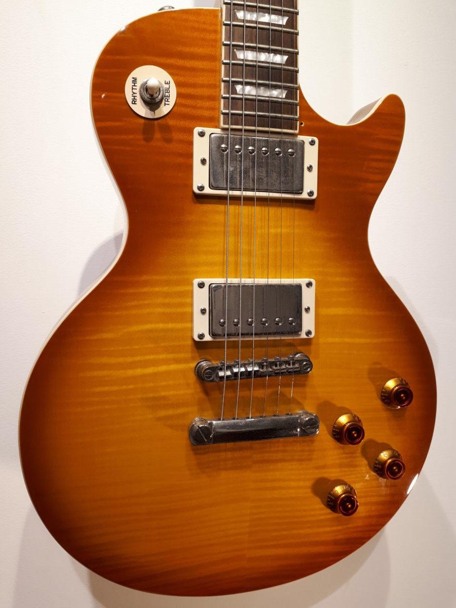 epiphone les paul standard plustop pro honey burst used guitar mania. Black Bedroom Furniture Sets. Home Design Ideas