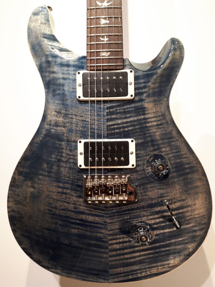 prs custom 22 whale blue