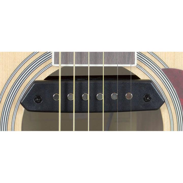 TGI Acoustic guitar pickup - soundhole humbucker with endpin jack socket  TGSH30